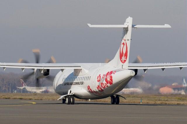 ニュース画像 1枚目:日本エアコミューター ATR 42