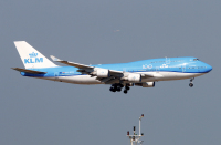 KLMオランダ航空、747貨客コンビ機の運航終了の画像