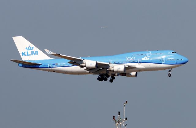 ニュース画像 1枚目:最後にアムステルダムに着陸した「PH-BFW」 (Asamaさん撮影)