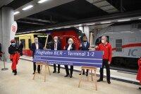 ニュース画像 3枚目:ターミナル1直通の新「Flughafen BER - Terminal 1-2」駅がオープン