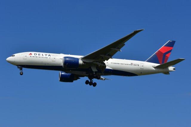 ニュース画像 1枚目:デルタ航空 777-200 イメージ (islandsさん撮影)