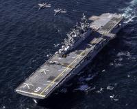 空自F-35Aと強襲揚陸艦「アメリカ」、太平洋で共同訓練の画像