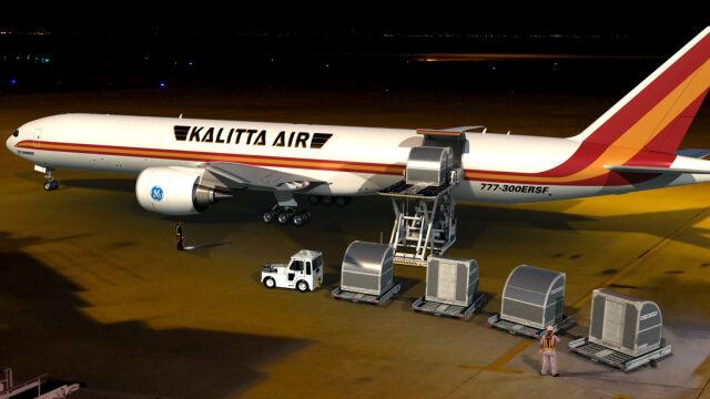 ニュース画像 1枚目:カリッタエア 777-300ERSFイメージ