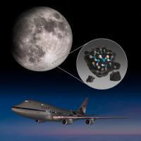 ニュース画像:747SP空飛ぶ天文台の成果 - 月の水、太陽光あたる場所でも確認