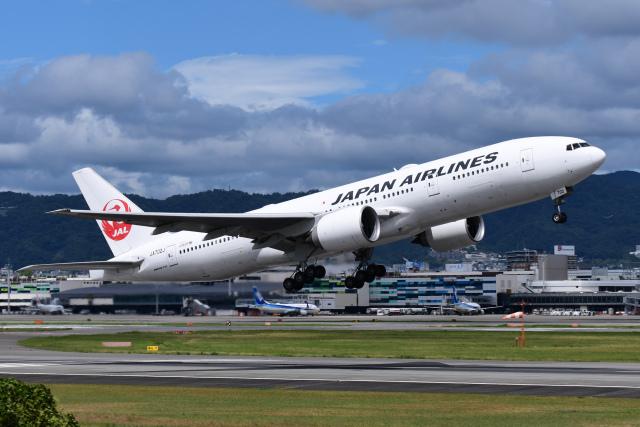 ニュース画像 1枚目:JAL 777-200 イメージ (TOPAZ102さん撮影)