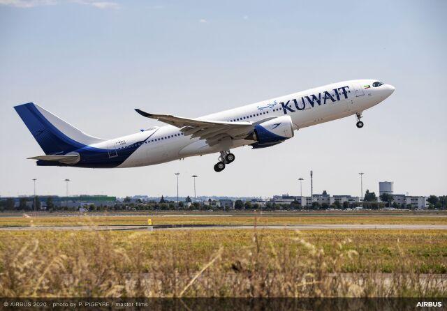 ニュース画像 1枚目:クウェート航空 A330-800
