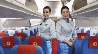 ニュース画像 2枚目:江西航空ARJ21機内の様子