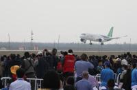 ニュース画像 4枚目:C919の展示飛行