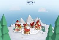 ニュース画像:サンタさんの現在位置はどこ? NORADサンタ追跡は24日16時スタート
