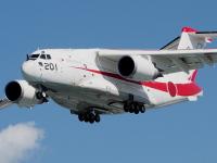 C-2輸送機、11月12日に岐阜基地の非舗装滑走路で飛行試験の画像