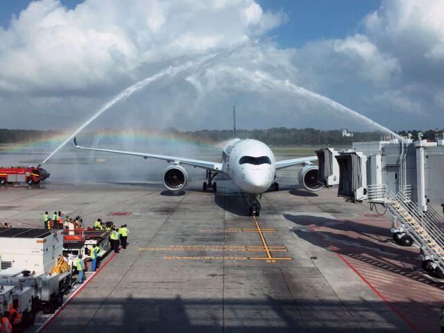 ニュース画像 1枚目:シンガポール航空 A350-900