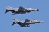 ニュース画像 1枚目:百里基地第302飛行隊のF-4EJ改