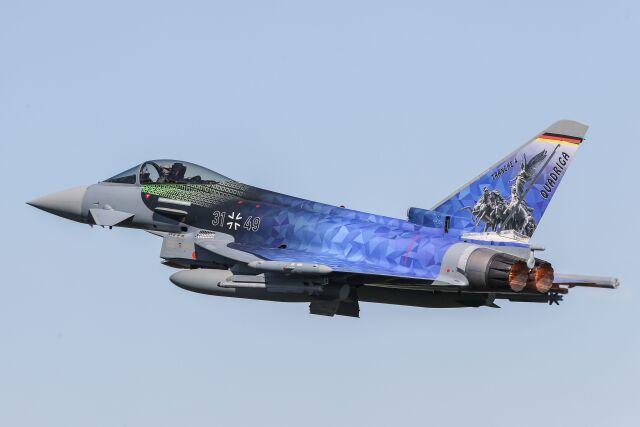 ニュース画像 1枚目:ドイツ空軍 タイフーン