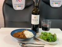 ニュース画像:JALラウンジカレー with ANA機内食サラダ、自宅で至高のコラボレージョン