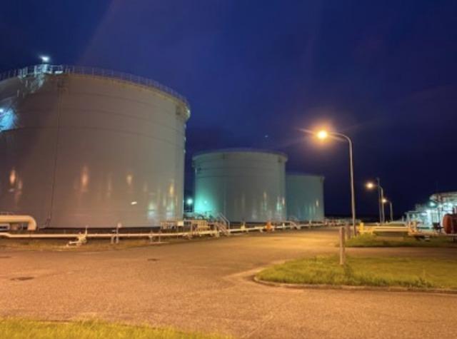 ニュース画像 1枚目:関西国際空港 航空機給油施設