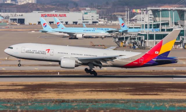 ニュース画像 1枚目:アシアナ航空、大韓航空が買収で決着へ イメージ (B.K JEONGさん撮影)