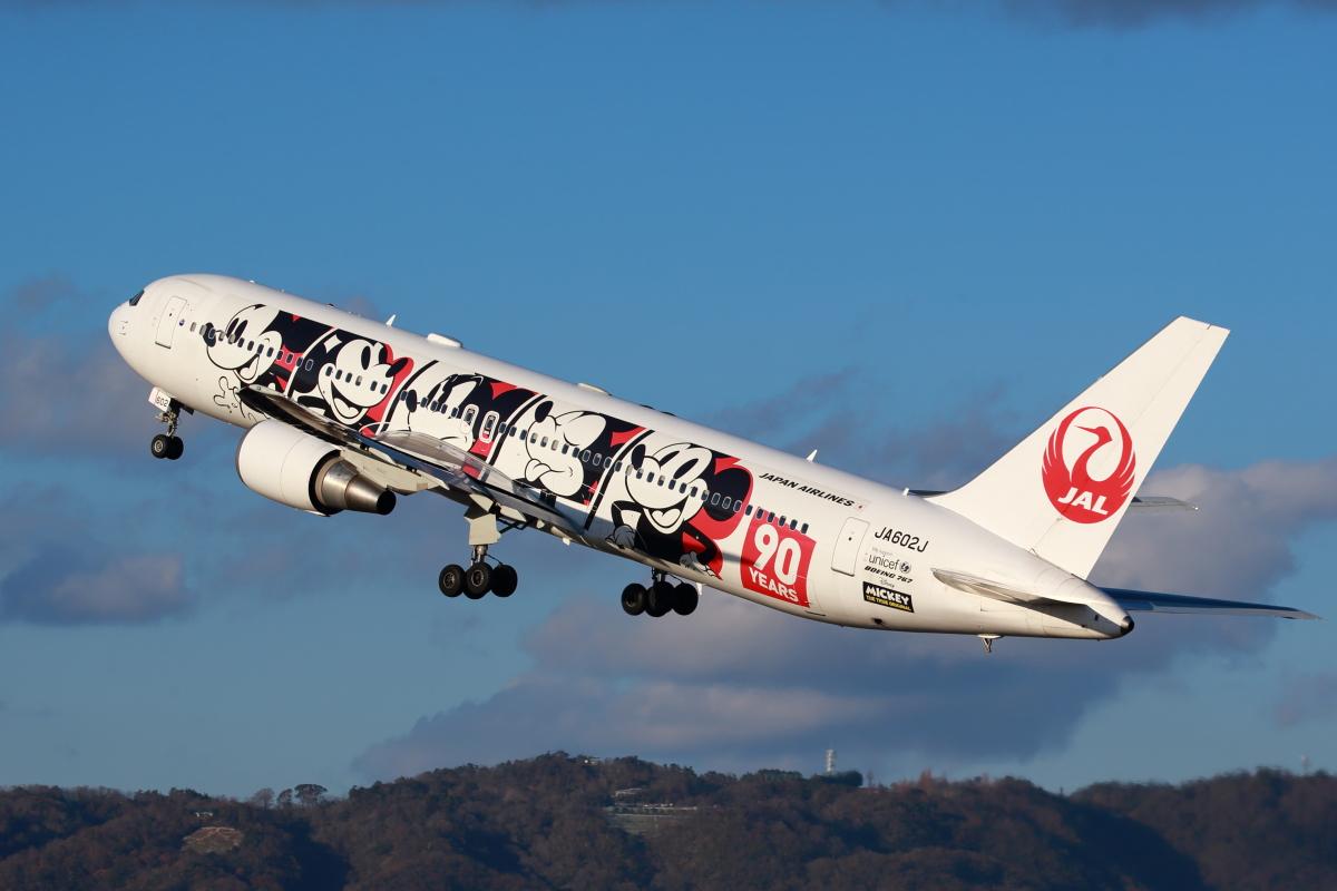 ニュース画像 13枚目:JALドリームエクスプレス90 - JA602J 767-300型機 (T.Sazenさん撮影)
