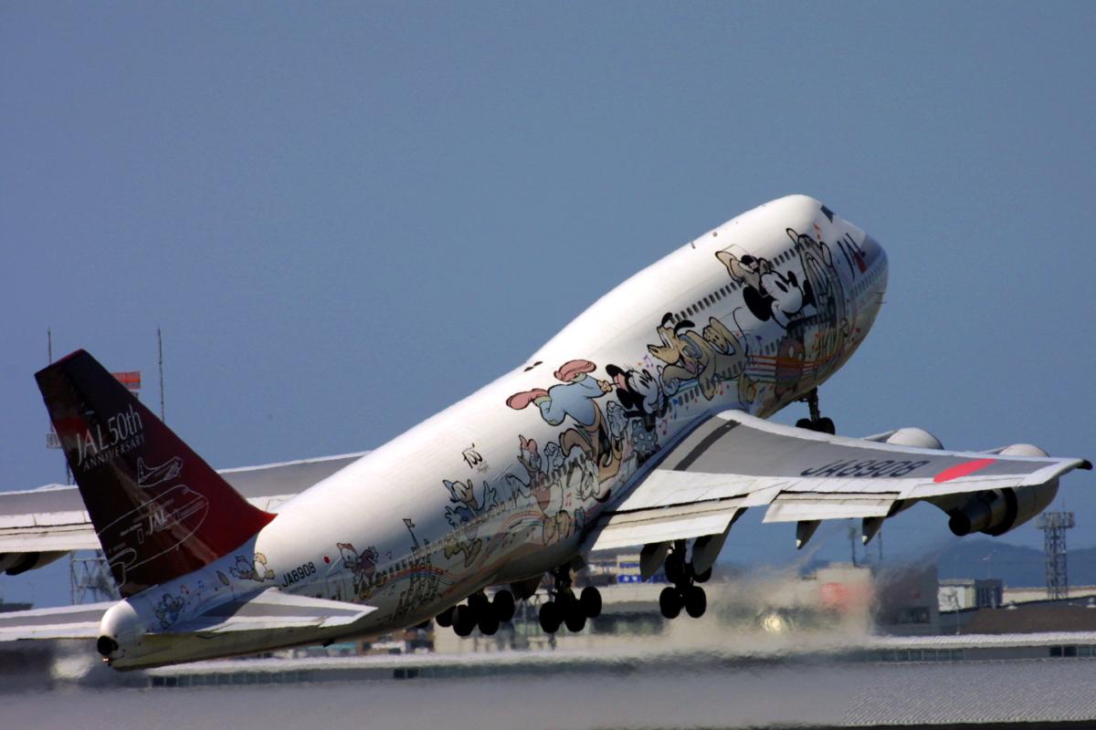 ニュース画像 12枚目:JALドリームエクスプレス21 - FRIENDS号 JA8908 747-400型機 (tsubameさん撮影)