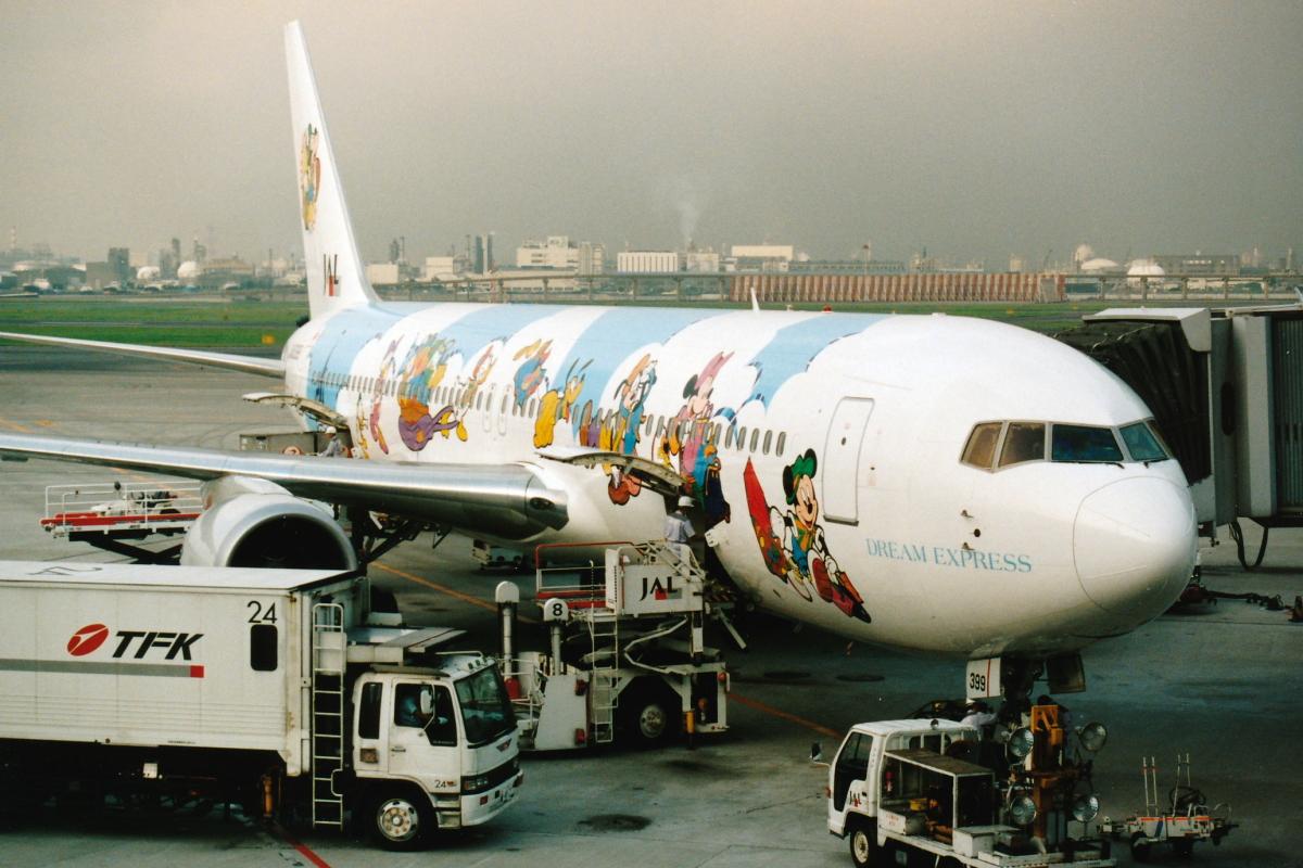 ニュース画像 8枚目: JALドリームエクスプレス(初代) - JA8399 767-300型機 (SKYLINEさん撮影)
