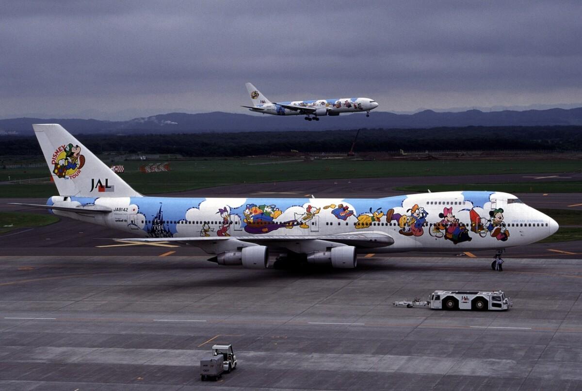 ニュース画像 5枚目:JALドリームエクスプレス(初代) - JA8142 747-100型機 (なごやんさん撮影)
