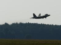 ニュース画像:アメリカ空軍のF-22ラプター、ポーランドを訪問