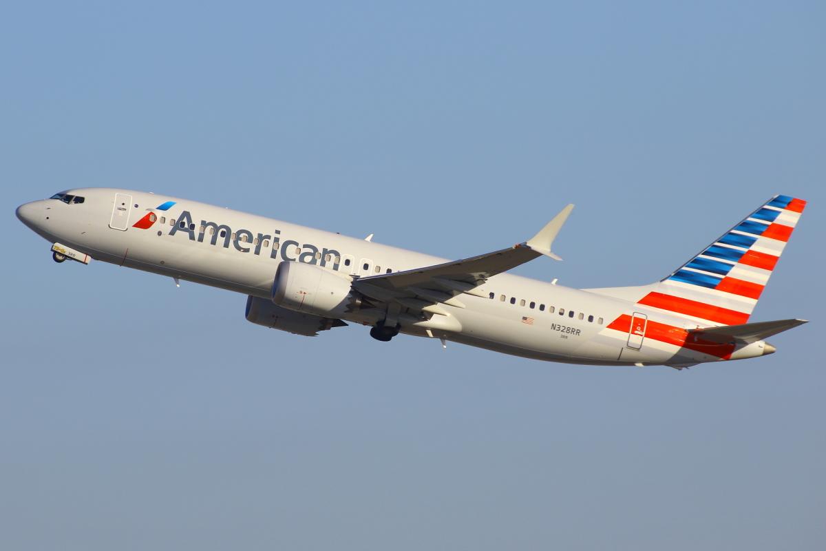 ニュース画像 1枚目:アメリカン航空 737 MAX イメージ (masa707さん撮影)