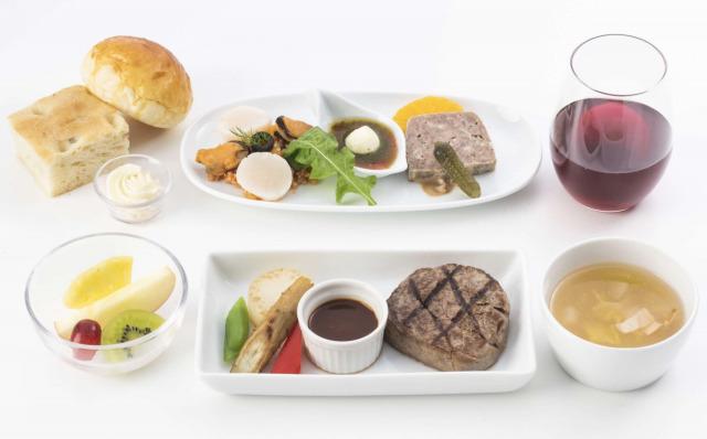 ニュース画像 1枚目:JAL 機内食 イメージ