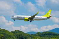 ニュース画像:ソラシドエア、12月と1月初旬の減便率15% 年末年始は全便運航