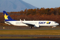 ニュース画像:スカイマーク、羽田/新千歳線で減便 11月27日・28日