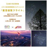 FDA、12月に名古屋「星空遊覧フライト」 ふたご座流星群のピークにの画像