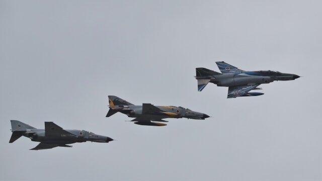 ニュース画像 1枚目:11月20日に訓練飛行したF-4EJ改ファンタム