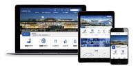 ニュース画像:羽田空港ターミナル・ウェブサイト、企業部門でグランプリ