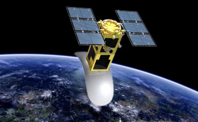 ニュース画像 1枚目:衛星合成開口レーダ イメージ