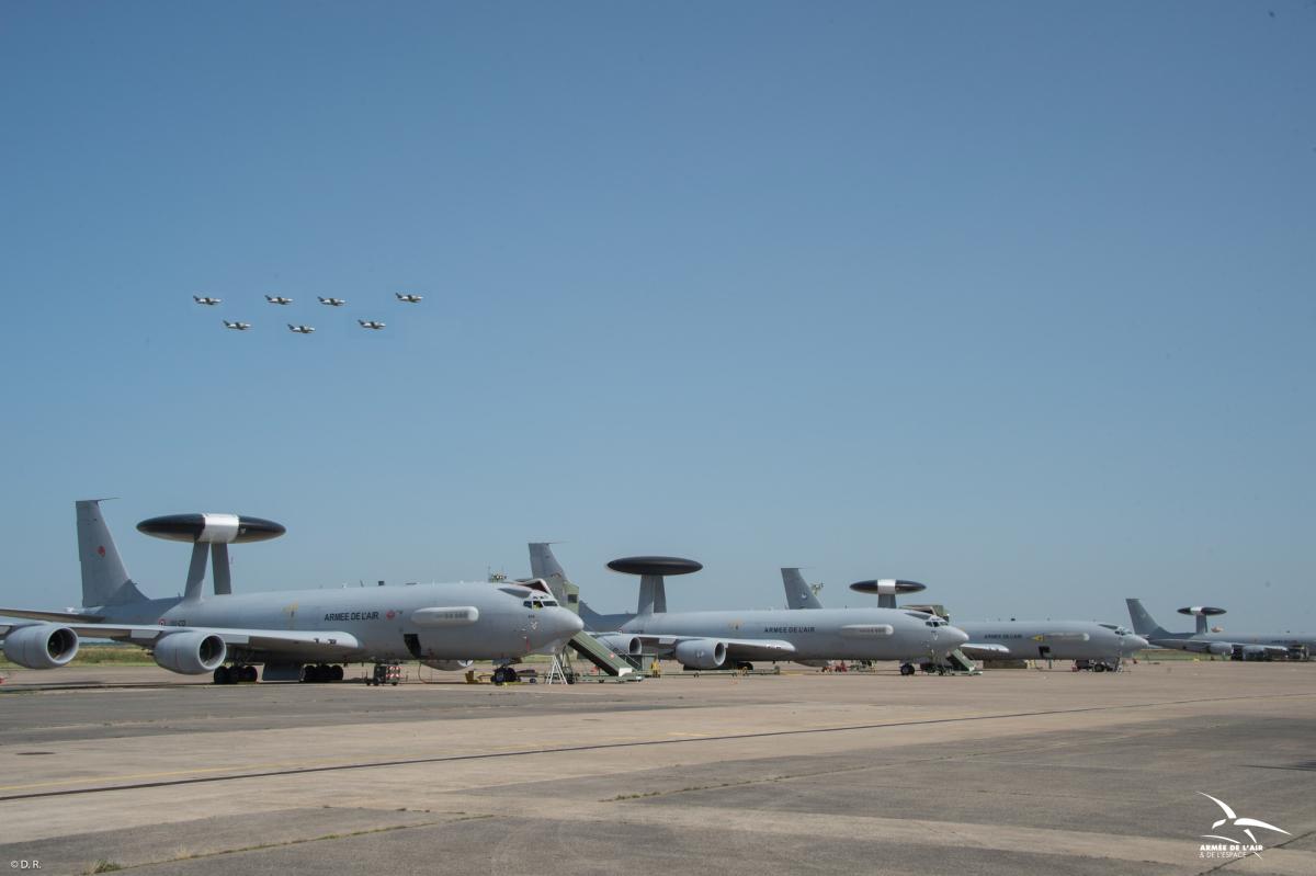 ニュース画像 1枚目:フランス空軍E-3Fセントリー
