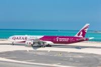 カタール航空、ワールドカップ特別塗装機を就航の画像