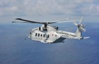 ニュース画像:岩国の海自MCH-101、岩国から鹿屋飛行時に部品落下か