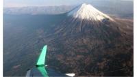 FDA、松本発着で「富士山アルプス遊覧フライト」12月13日の画像