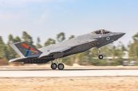 イスラエル空軍、試験用F-35Iアディール受領の画像