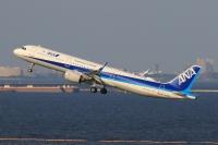 ニュース画像:ANA、A321neo「JA150A」受領 午後に羽田到着