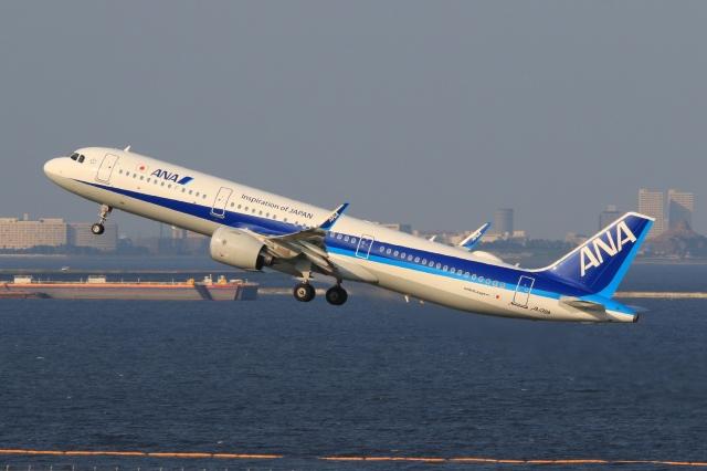 ニュース画像 1枚目:ANA A321neo イメージ (Hiro-hiroさん撮影)