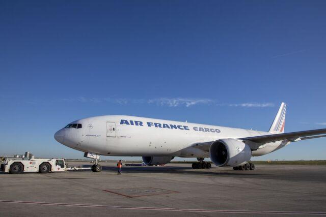 ニュース画像 1枚目:エールフランス・カーゴ 777F 「F-GUOC」