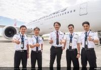 JAL、夢を叶えたパイロットが特別講座 修学旅行中止の中学生にの画像