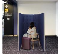 羽田空港、障がい者が気持ちを落ち着かせるためのカームダウンペース設置の画像