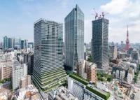 ニュース画像 3枚目:虎ノ門ヒルズ(写真中央)、ビジネスタワー(左)、建設中のステーションタワー(右)