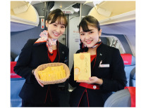ニュース画像:FDA、名古屋小牧/高知線で和菓子「人のよろしさ」提供