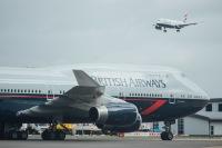 ニュース画像 3枚目:ロンドン・ヒースロー空港でかつて活躍中のボーイング747型機