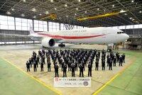 ニュース画像:777政府専用機、任務運航10回達成 最長距離は初任務の3万キロ