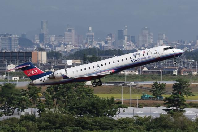 ニュース画像 1枚目:アイベックスエアラインズ CRJ-700 イメージ (meskinさん撮影)