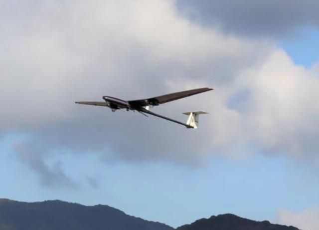 ニュース画像 1枚目:飛行する固定翼型無人機 XU-S