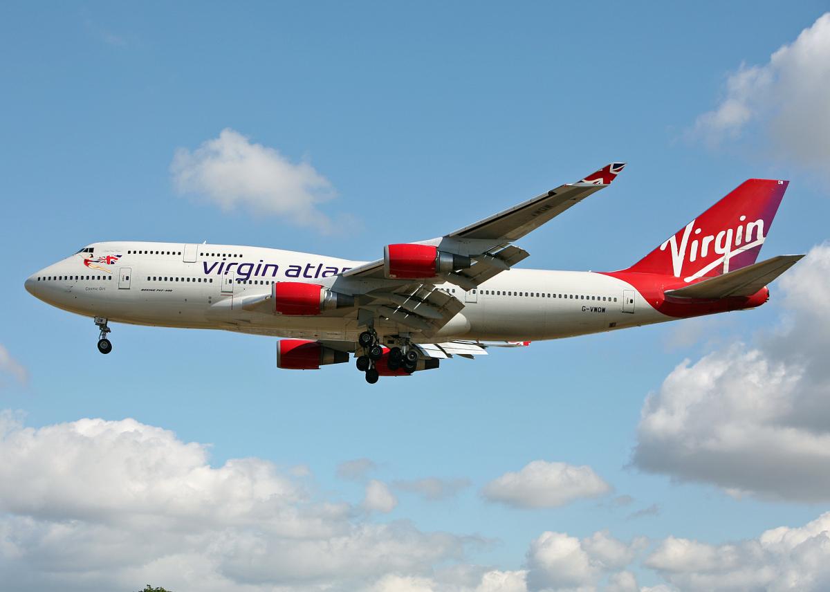 ニュース画像 1枚目:ヴァージン・アトランティック航空 747-400 イメージ (Bokuranさん撮影)